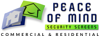 peace of mind security doors logo